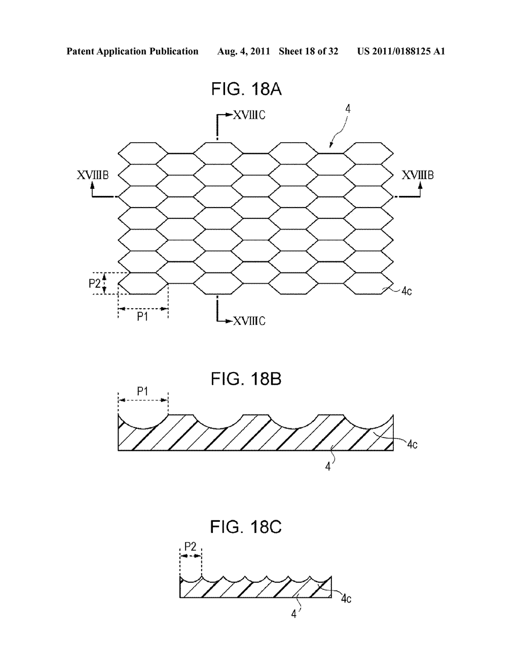 OPTICAL ELEMENT AND METHOD FOR MANUFACTURING THE SAME - diagram, schematic, and image 19