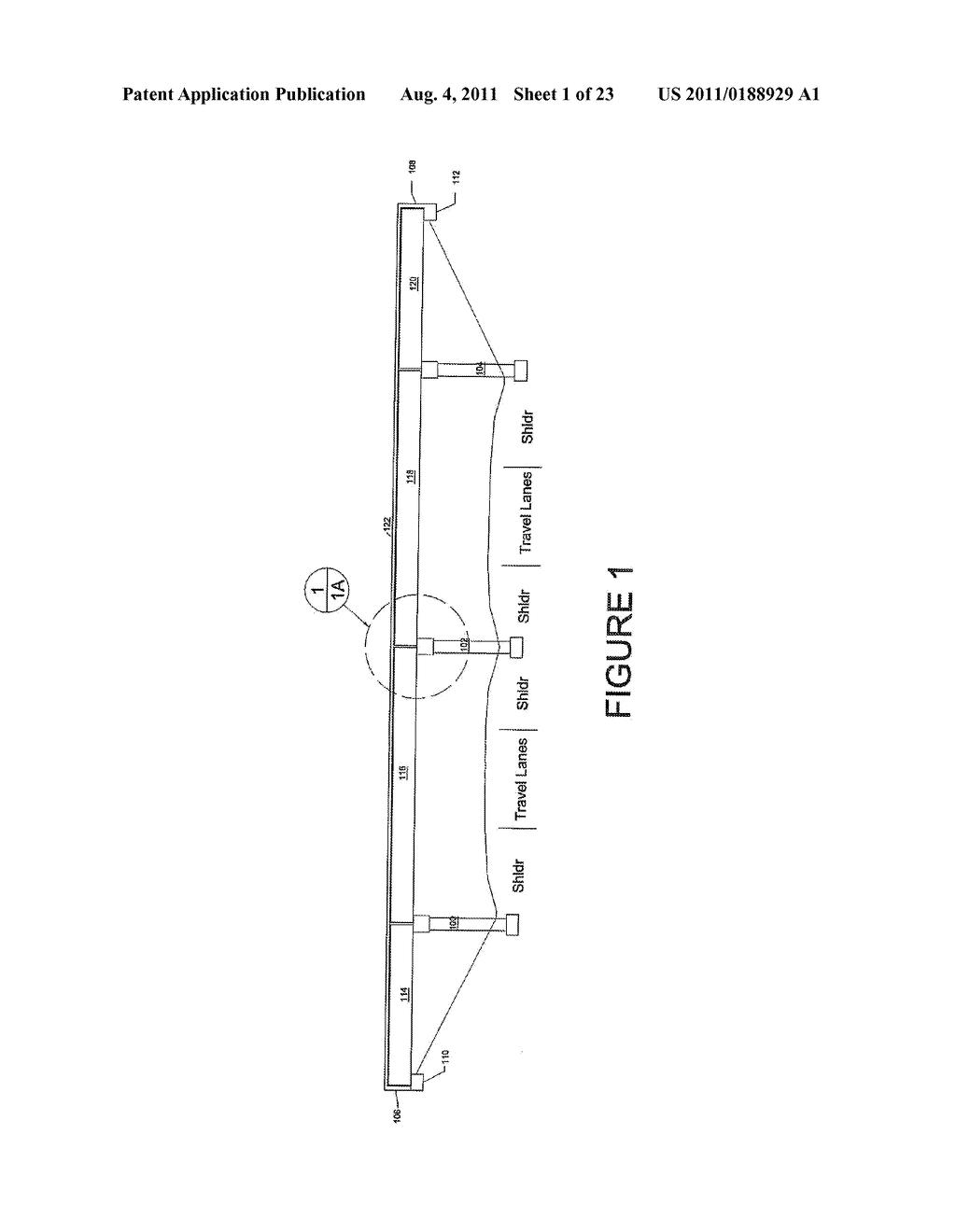 HIGHWAY OVERPASS BRIDGE MODIFICATION SYSTEM AND METHOD - diagram, schematic, and image 02