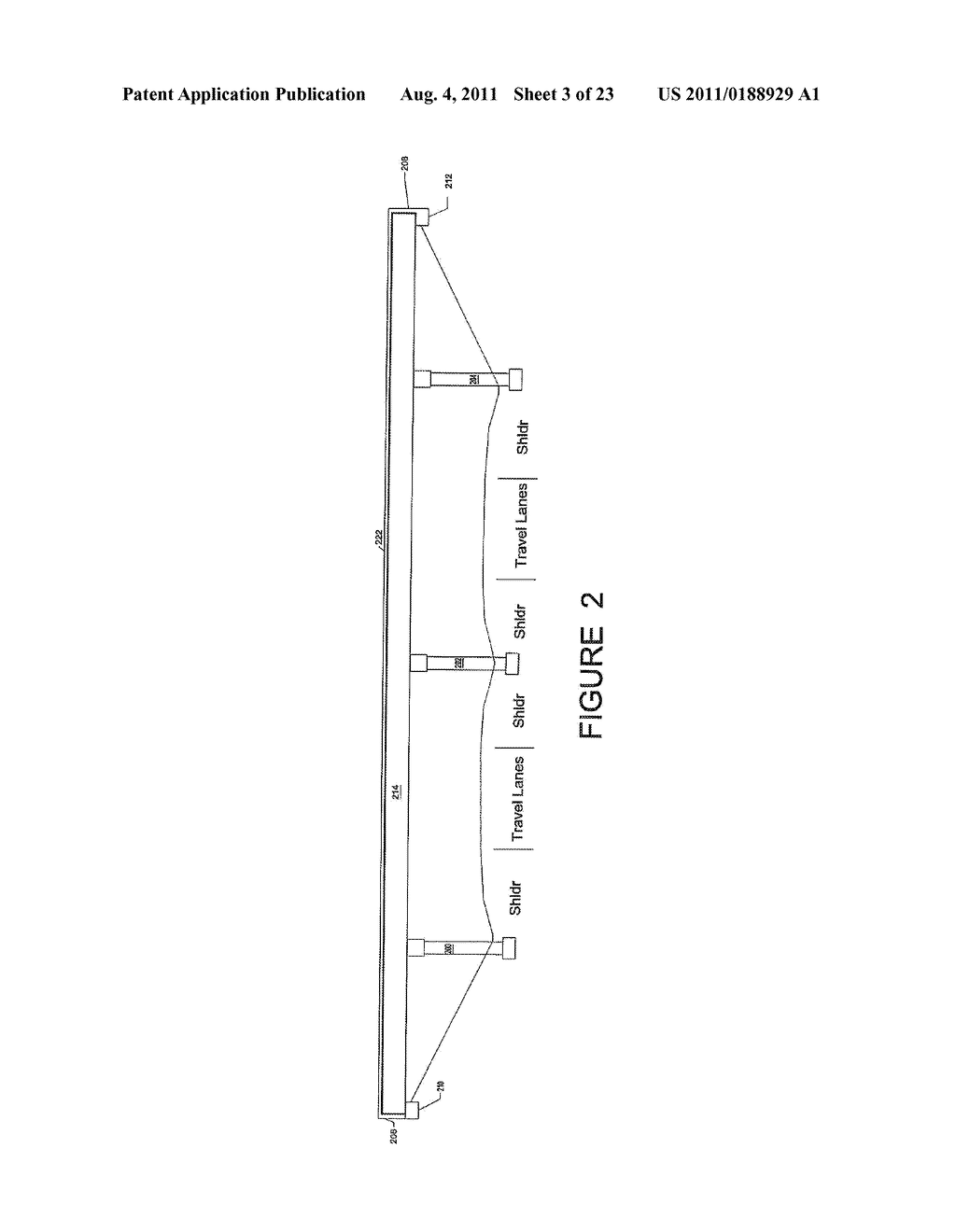 HIGHWAY OVERPASS BRIDGE MODIFICATION SYSTEM AND METHOD - diagram, schematic, and image 04