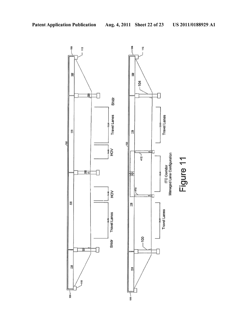 HIGHWAY OVERPASS BRIDGE MODIFICATION SYSTEM AND METHOD - diagram, schematic, and image 23