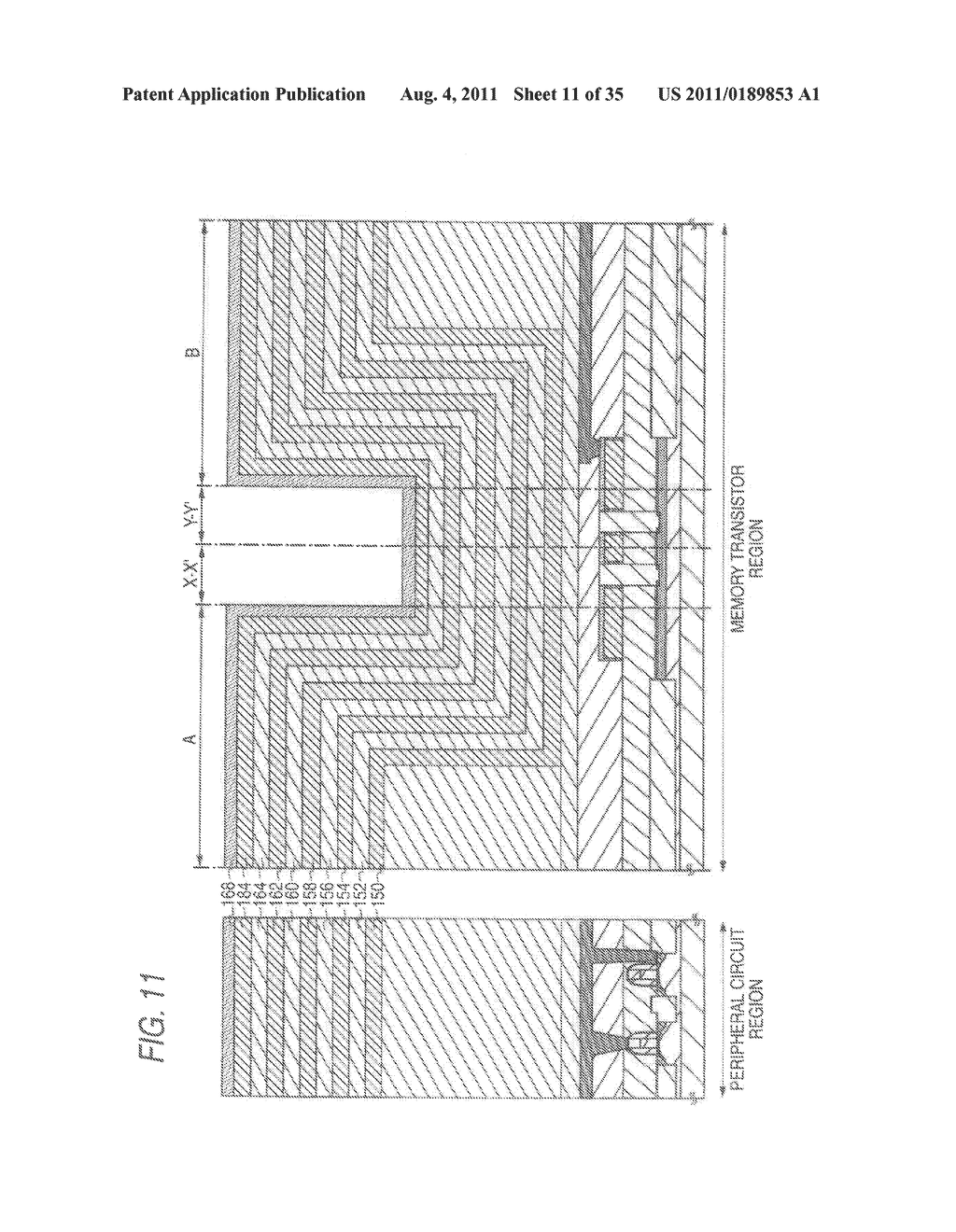NONVOLATILE SEMICONDUCTOR STORAGE APPARATUS AND METHOD FOR MANUFACTURING     THE SAME - diagram, schematic, and image 12