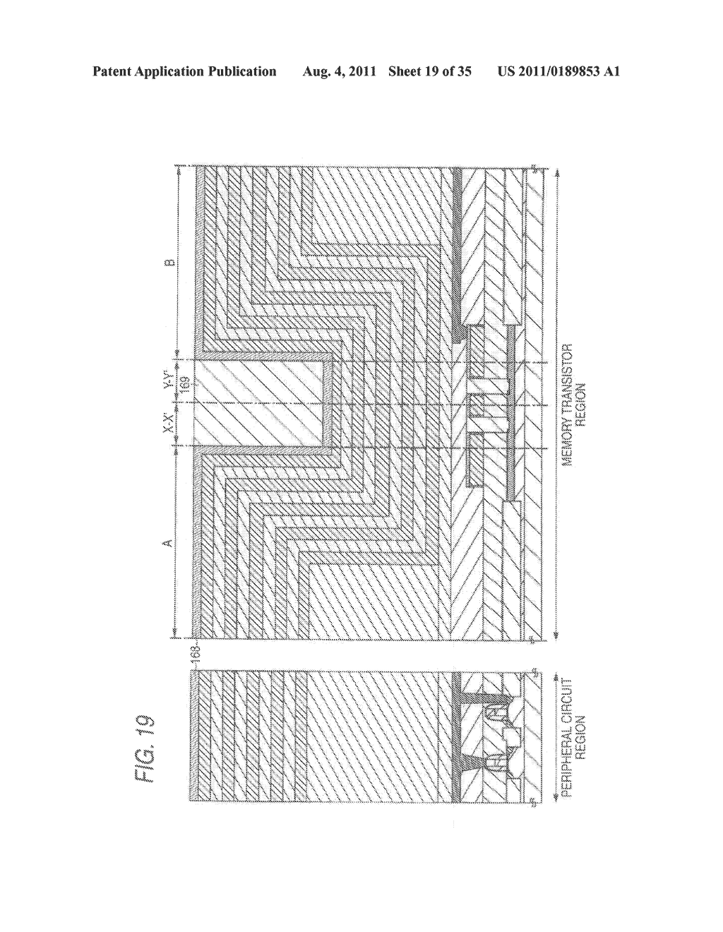 NONVOLATILE SEMICONDUCTOR STORAGE APPARATUS AND METHOD FOR MANUFACTURING     THE SAME - diagram, schematic, and image 20