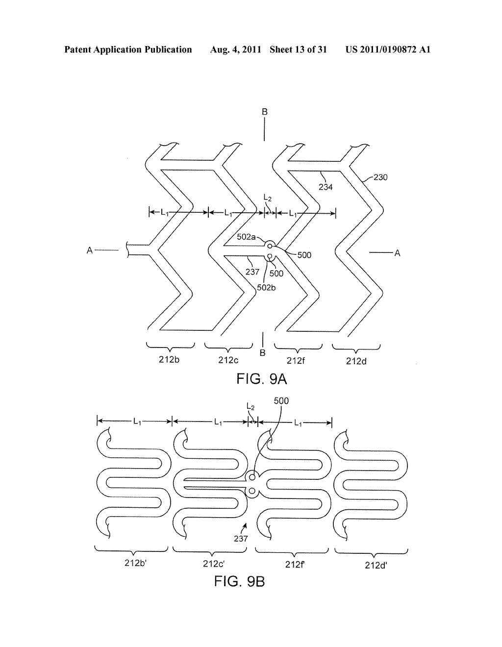 Crush Recoverable Polymer Scaffolds Having a Low Crossing Profile - diagram, schematic, and image 14