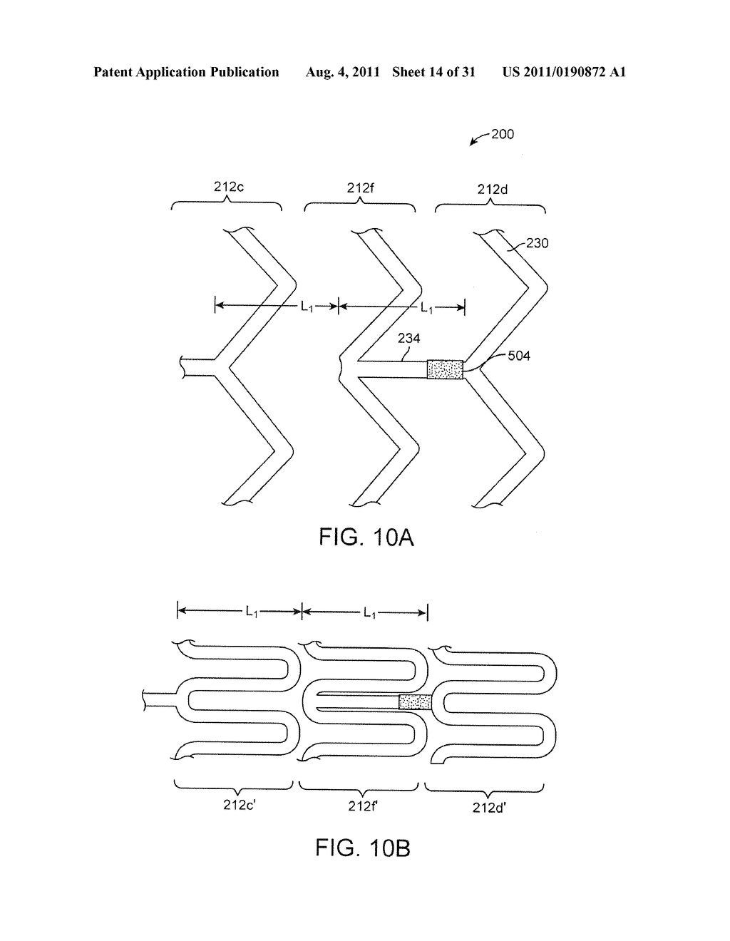Crush Recoverable Polymer Scaffolds Having a Low Crossing Profile - diagram, schematic, and image 15