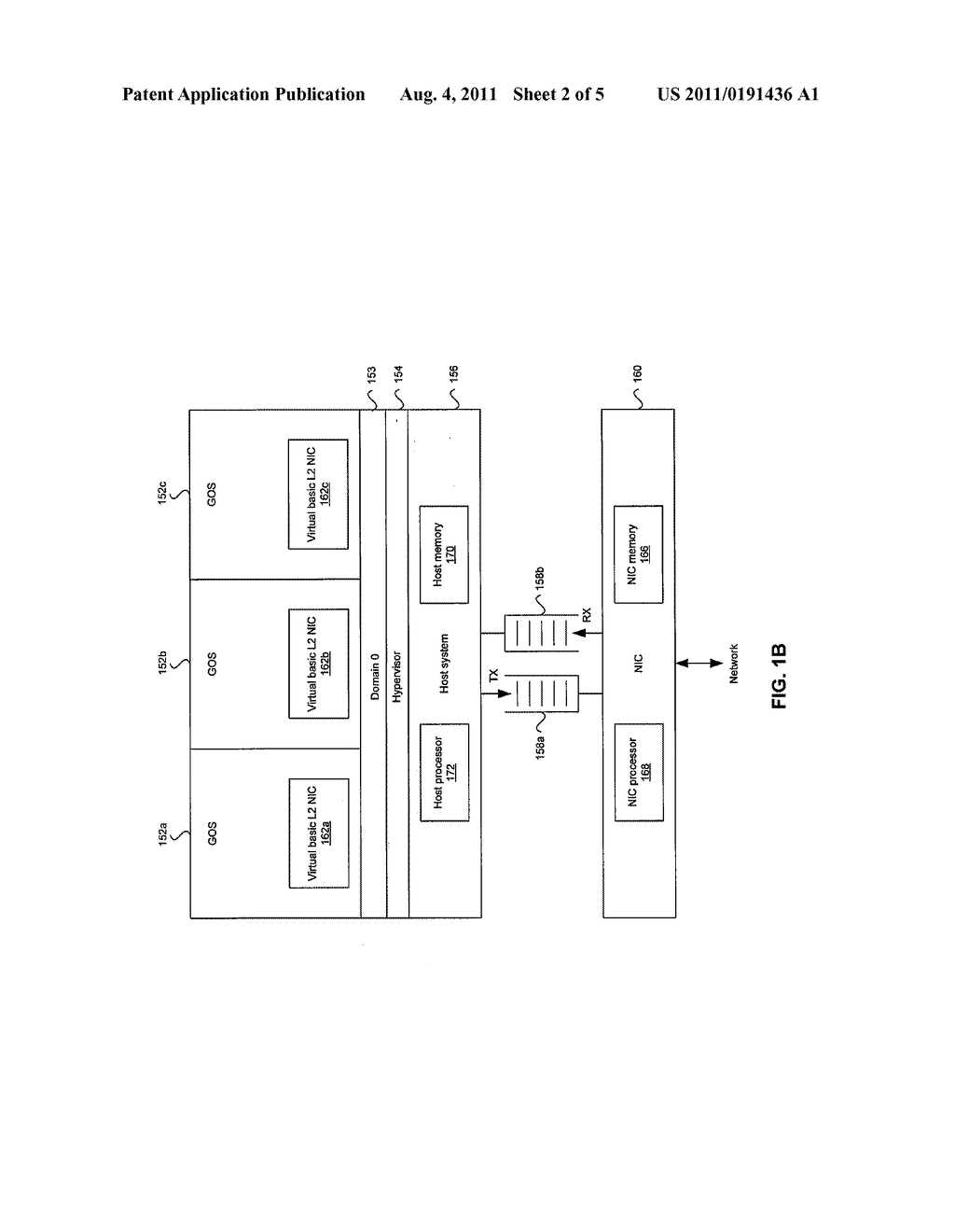 Method and System for Protocol Offload in Paravirtualized Systems - diagram, schematic, and image 03