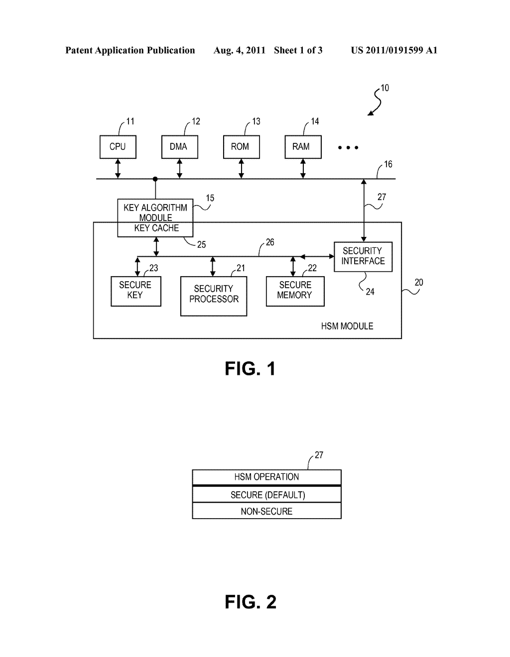 Apparatus and method for providing hardware security - diagram, schematic, and image 02