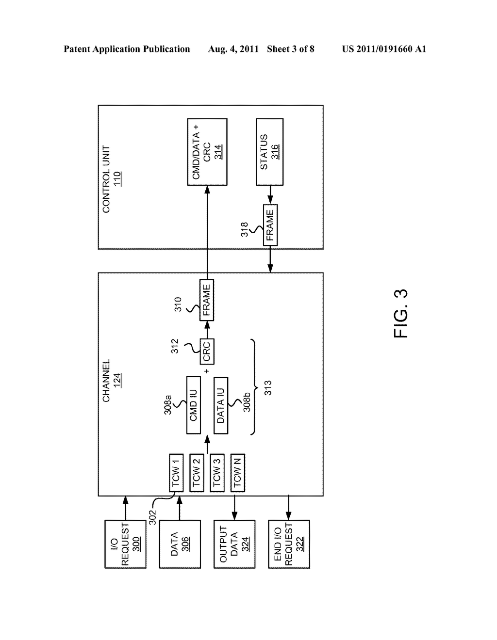 Apparatus, System, and Method for Specifying Intermediate CRC Locations in     a Data Stream - diagram, schematic, and image 04