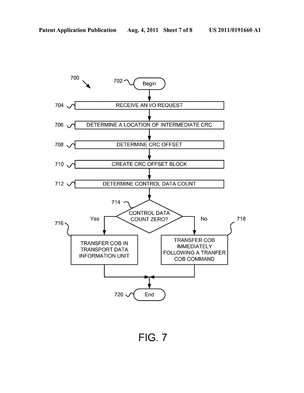 Apparatus, System, and Method for Specifying Intermediate CRC Locations in     a Data Stream - diagram, schematic, and image 08
