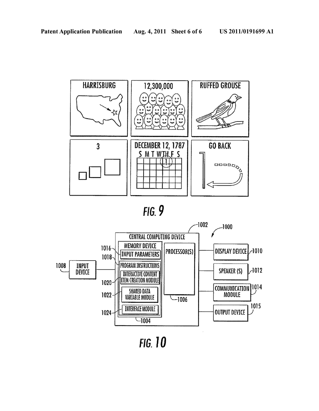 SYSTEM AND METHOD OF INTERFACING INTERACTIVE CONTENT ITEMS AND SHARED DATA     VARIABLES - diagram, schematic, and image 07