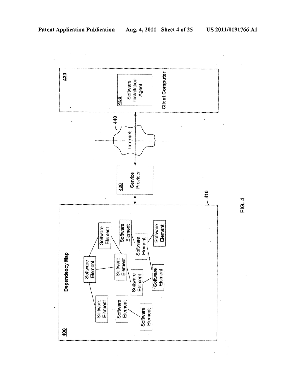APPARATUS AND METHOD FOR GENERATING A SOFTWARE DEPENDENCY MAP - diagram, schematic, and image 05