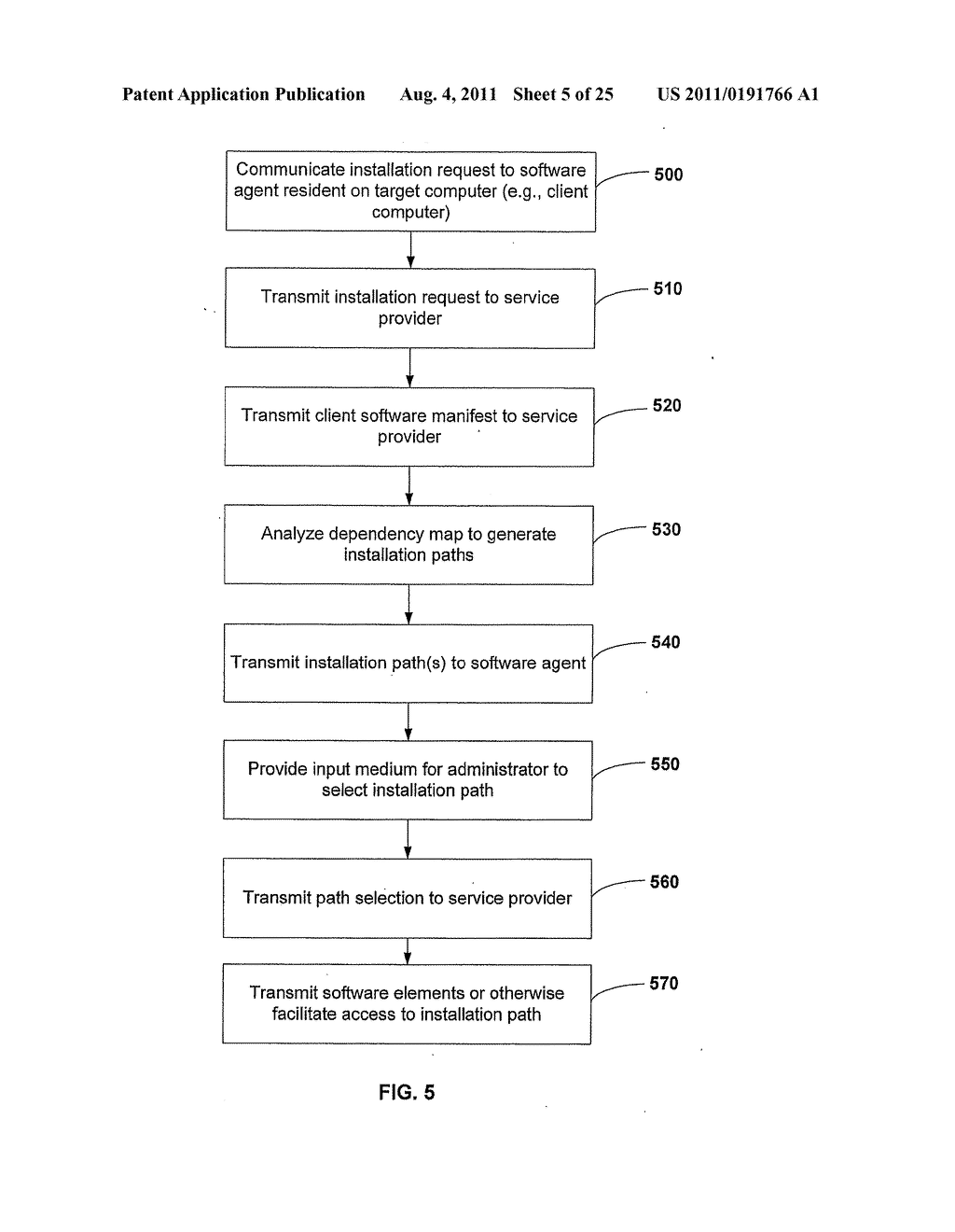 APPARATUS AND METHOD FOR GENERATING A SOFTWARE DEPENDENCY MAP - diagram, schematic, and image 06