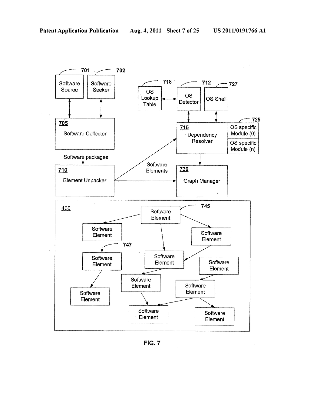APPARATUS AND METHOD FOR GENERATING A SOFTWARE DEPENDENCY MAP - diagram, schematic, and image 08