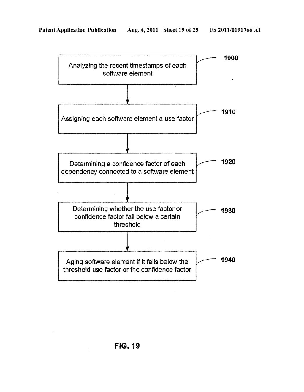 APPARATUS AND METHOD FOR GENERATING A SOFTWARE DEPENDENCY MAP - diagram, schematic, and image 20