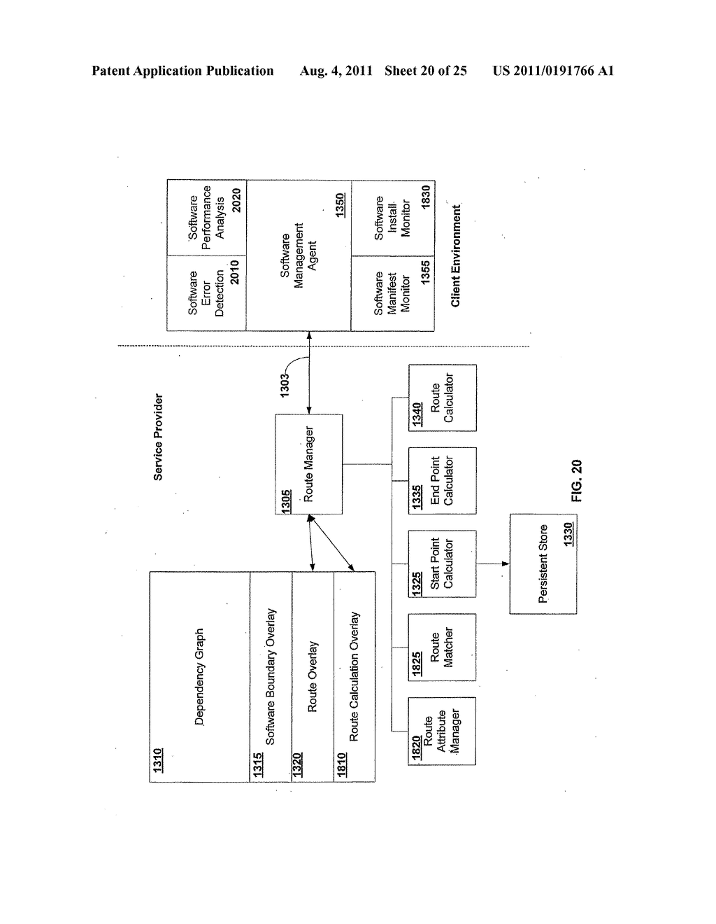 APPARATUS AND METHOD FOR GENERATING A SOFTWARE DEPENDENCY MAP - diagram, schematic, and image 21