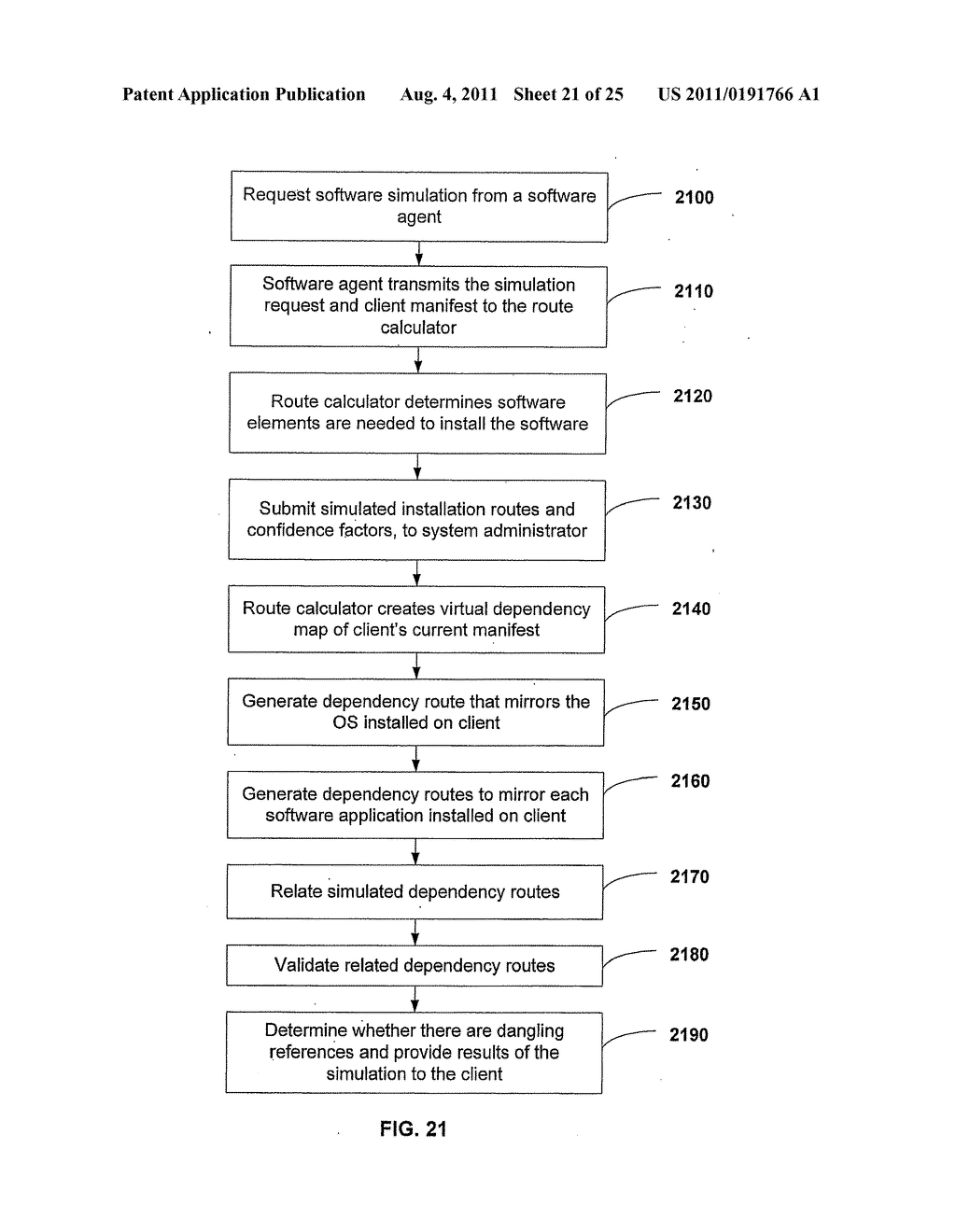 APPARATUS AND METHOD FOR GENERATING A SOFTWARE DEPENDENCY MAP - diagram, schematic, and image 22