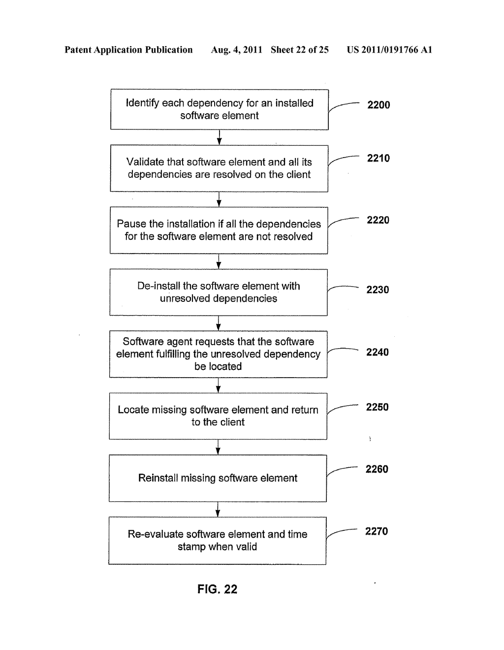 APPARATUS AND METHOD FOR GENERATING A SOFTWARE DEPENDENCY MAP - diagram, schematic, and image 23