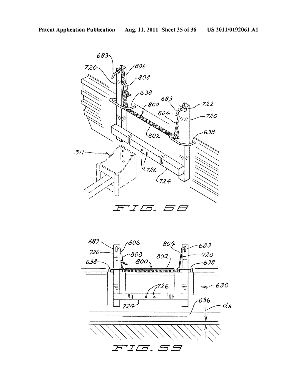 SNOW PLOW HAVING PIVOTAL MOUNTING APPARATUS - diagram, schematic, and image 36