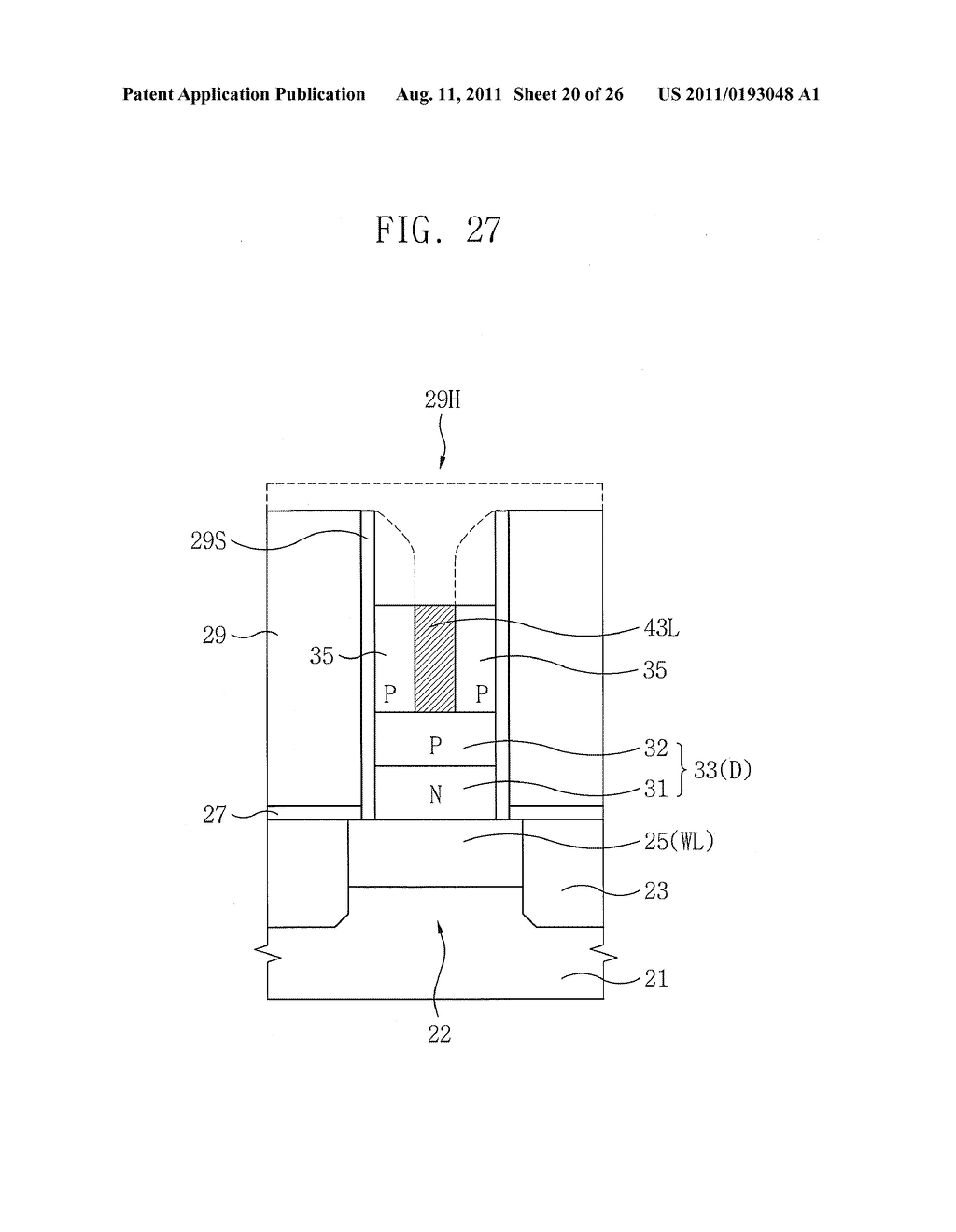 NON-VOLATILE MEMORY DEVICE HAVING BOTTOM ELECTRODE - diagram, schematic, and image 21