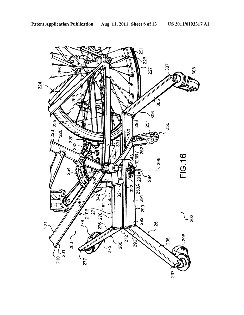 VEHICLE STABILIZATION APPARATUS AND VEHICLE FORMED THEREWITH - diagram, schematic, and image 09