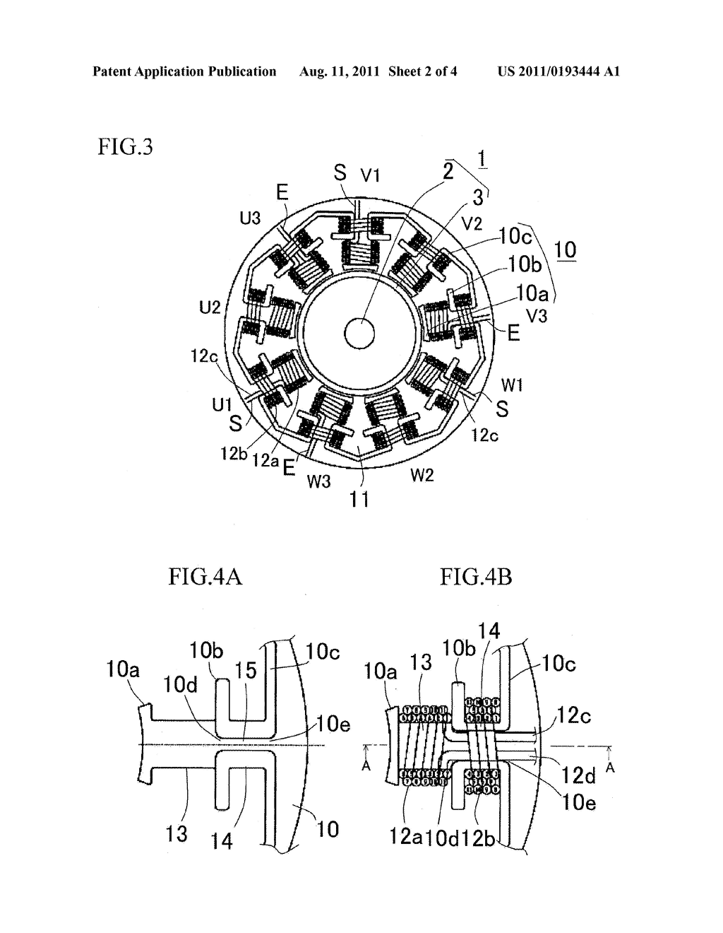 dc electric motor schematic