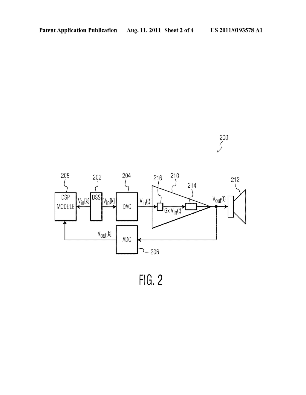 SYSTEM AND METHOD FOR SENSING AN AMPLIFIER LOAD CURRENT - diagram, schematic, and image 03