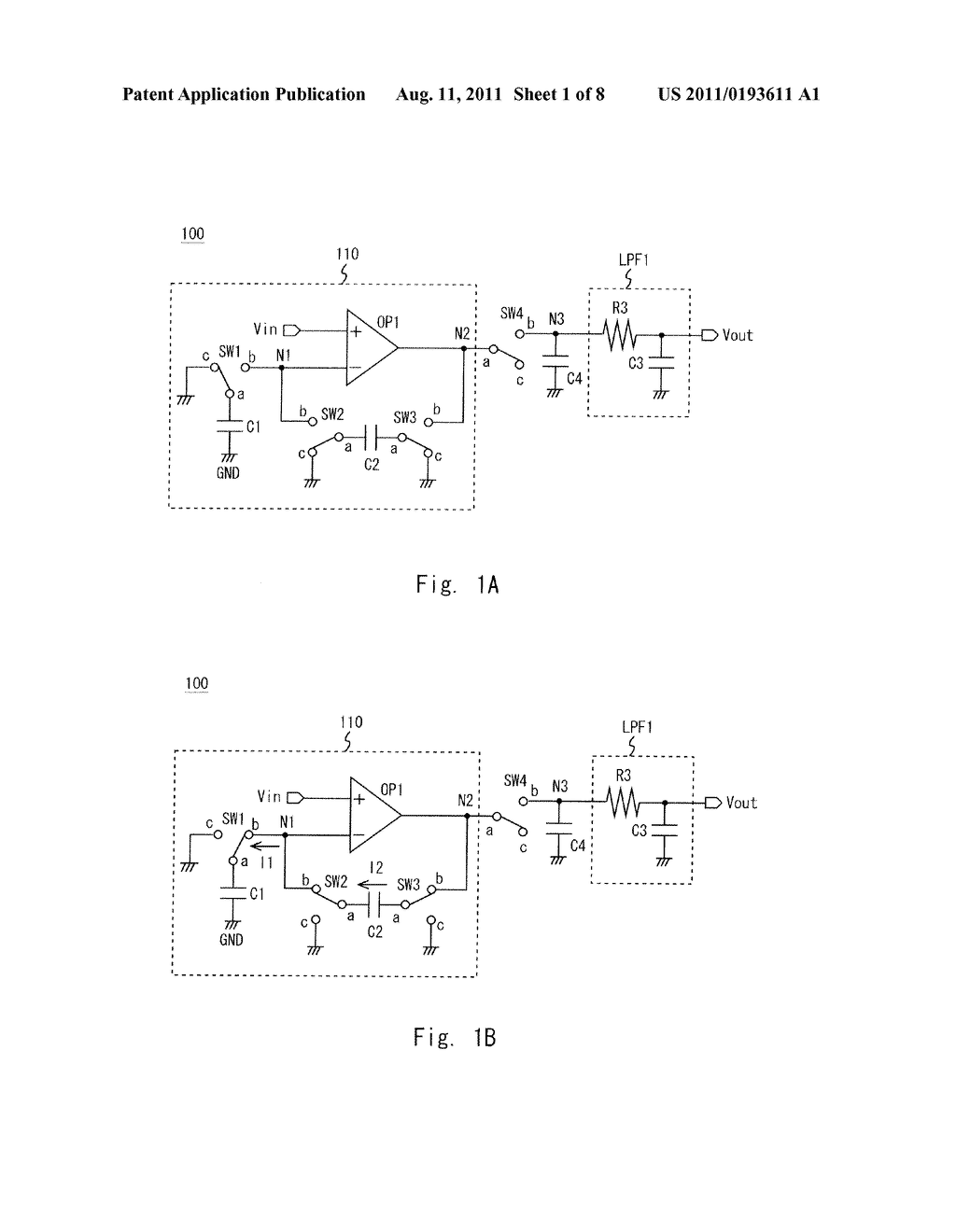 SWITCHED CAPACITOR CIRCUIT - diagram, schematic, and image 02