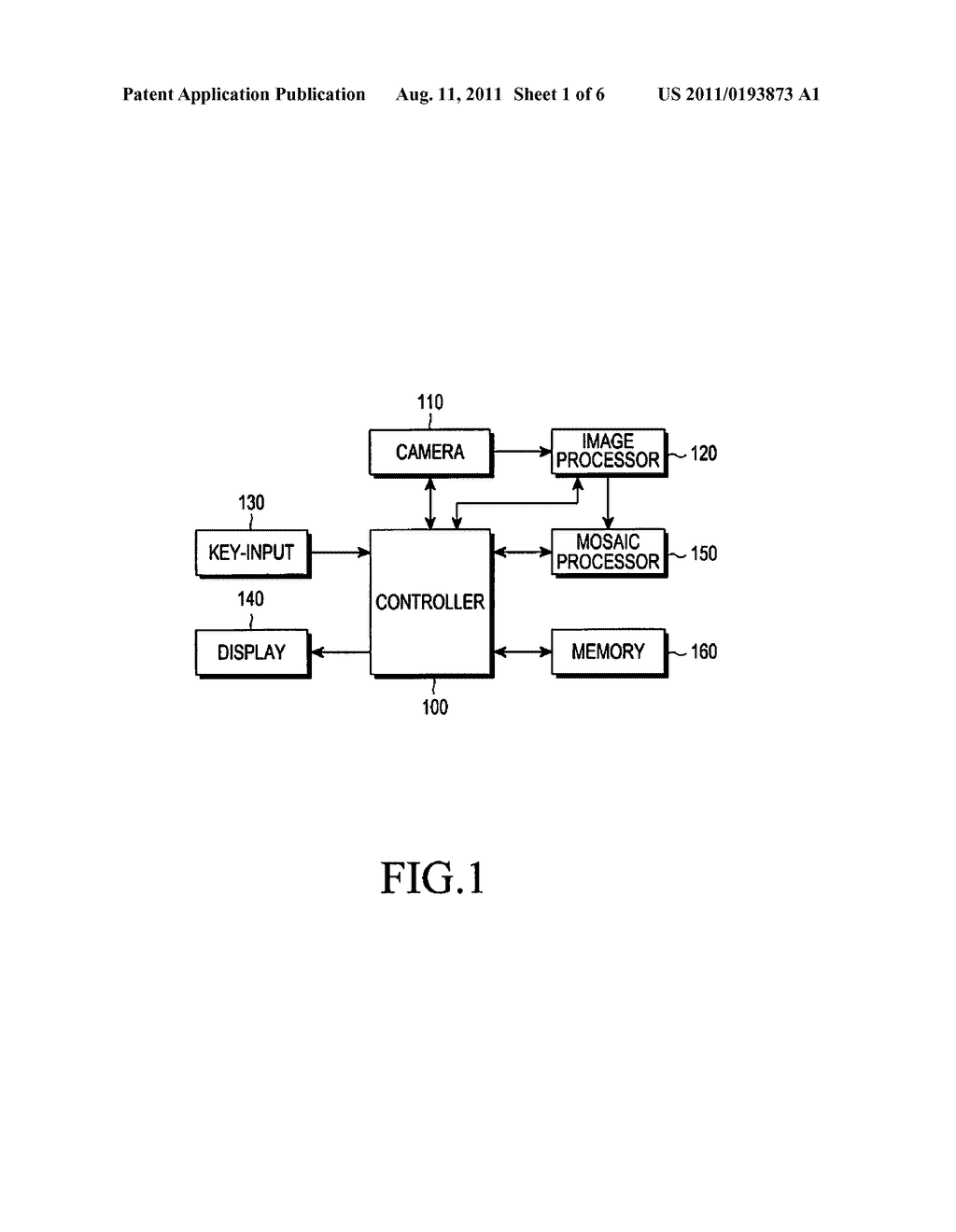 DEVICE AND METHOD FOR GENERATING MOSAIC IMAGE INCLUDING TEXT - diagram, schematic, and image 02