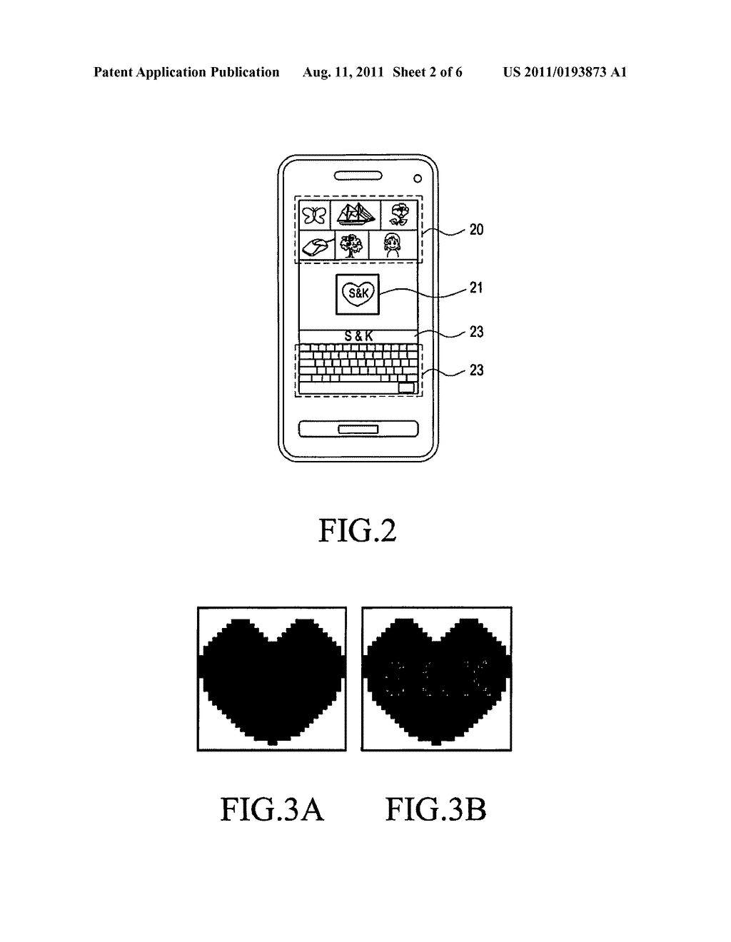 DEVICE AND METHOD FOR GENERATING MOSAIC IMAGE INCLUDING TEXT - diagram, schematic, and image 03