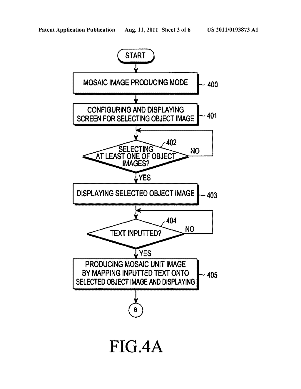 DEVICE AND METHOD FOR GENERATING MOSAIC IMAGE INCLUDING TEXT - diagram, schematic, and image 04