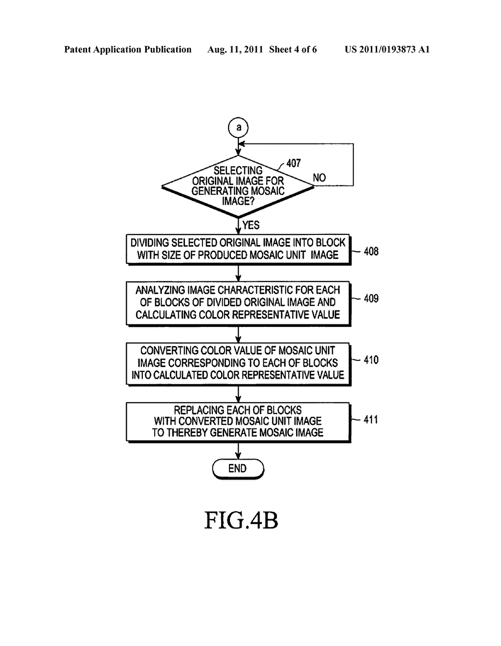 DEVICE AND METHOD FOR GENERATING MOSAIC IMAGE INCLUDING TEXT - diagram, schematic, and image 05