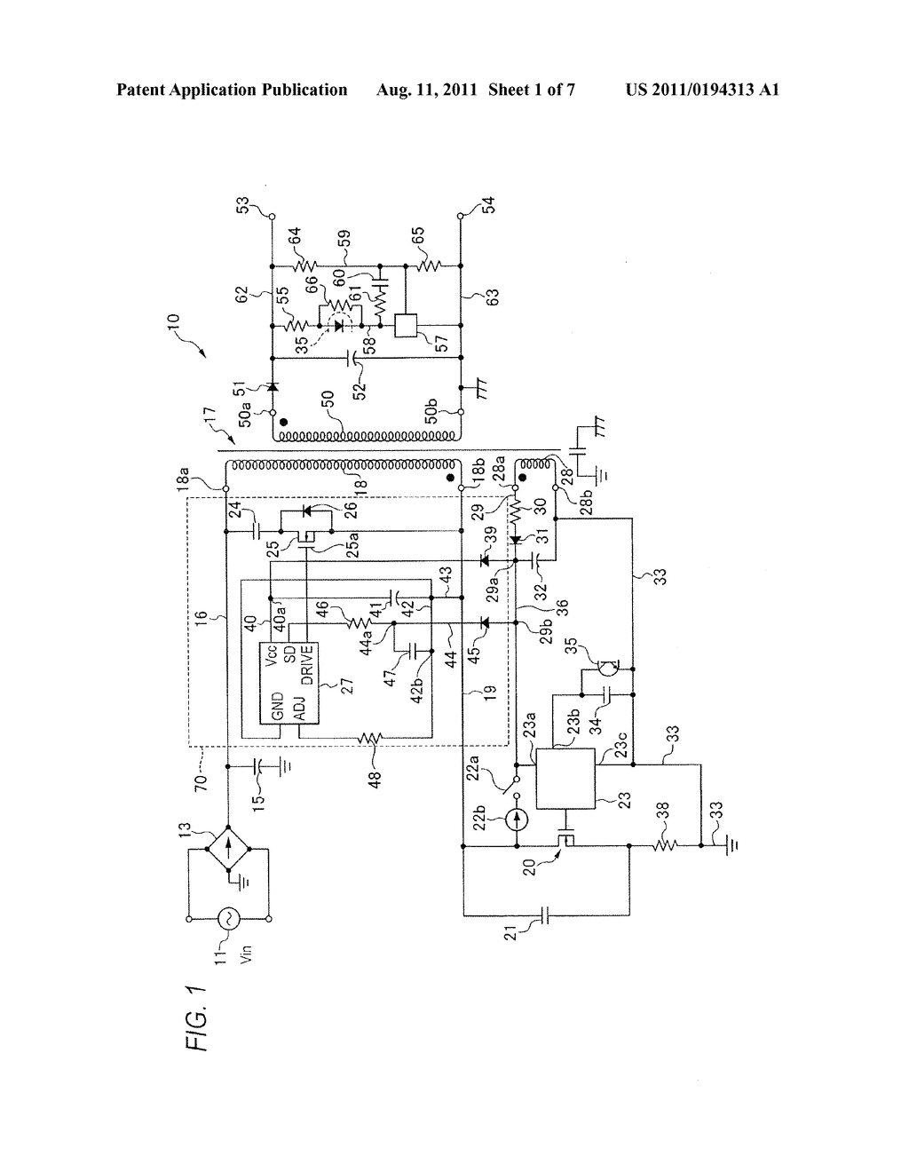 Active Snubber Circuit And Power Supply Diagram Schematic Of Image 02