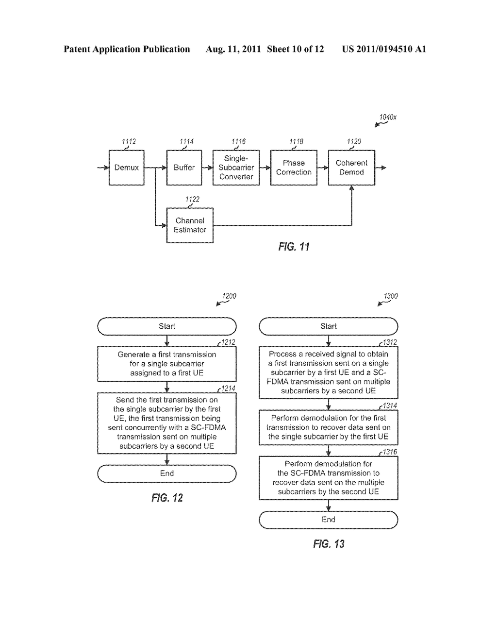 Method and Apparatus for Sending and Receiving a Low-Complexity     Transmission in a Wireless Communication System - diagram, schematic, and image 11