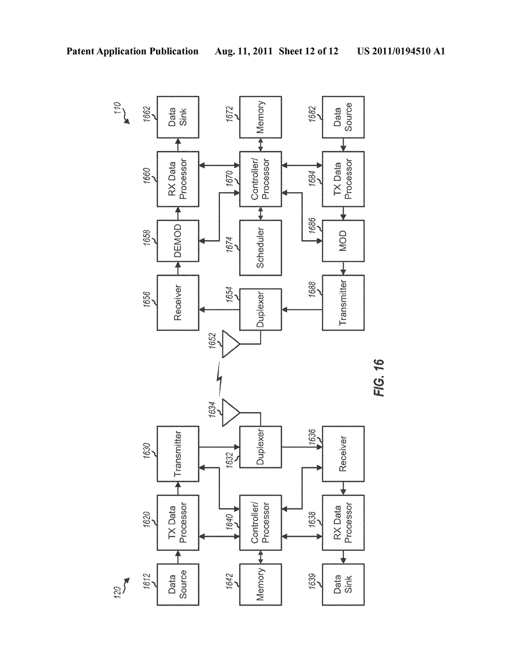 Method and Apparatus for Sending and Receiving a Low-Complexity     Transmission in a Wireless Communication System - diagram, schematic, and image 13