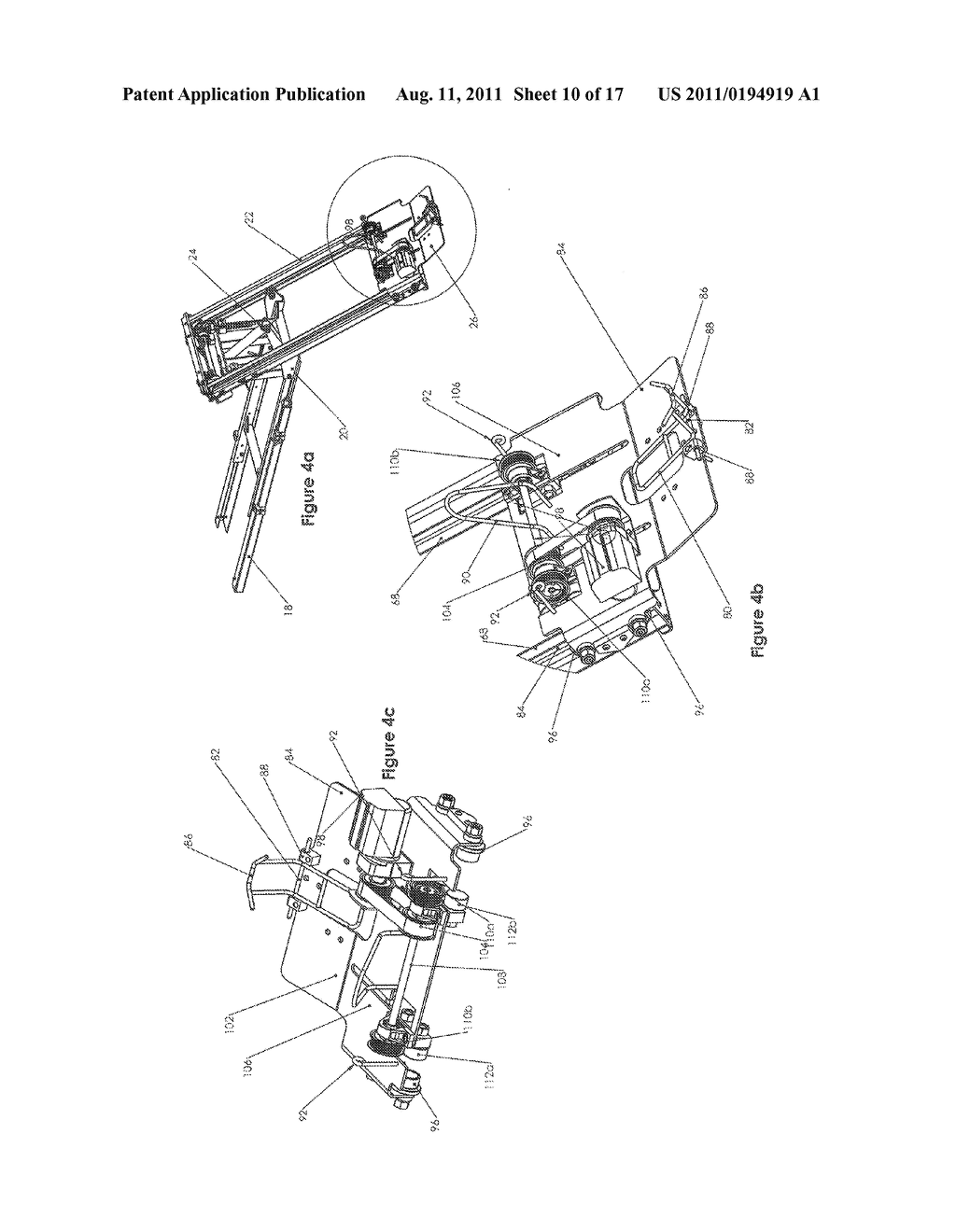 MOTORCYCLE LIFT DEVICE - diagram, schematic, and image 11