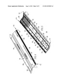 ROOF RIDGE VENT AND VENTILATED ROOF EMPLOYING SAME diagram and image
