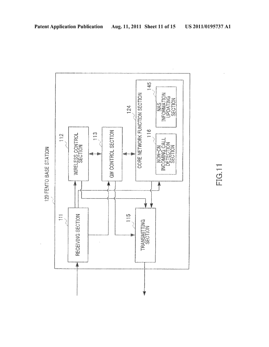 BASE STATION DEVICE, GATEWAY DEVICE, CALL CONNECTING METHOD, AND WIRELESS     COMMUNICATION SYSTEM - diagram, schematic, and image 12