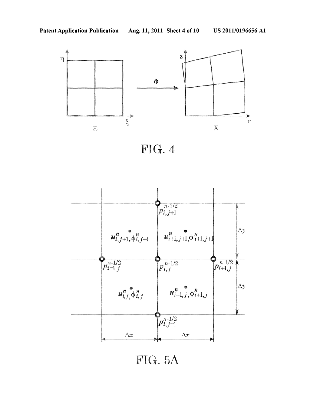Finite Difference Level Set Projection Method on Multi-Staged Quadrilateral  Grids - diagram, schematic, and image 05