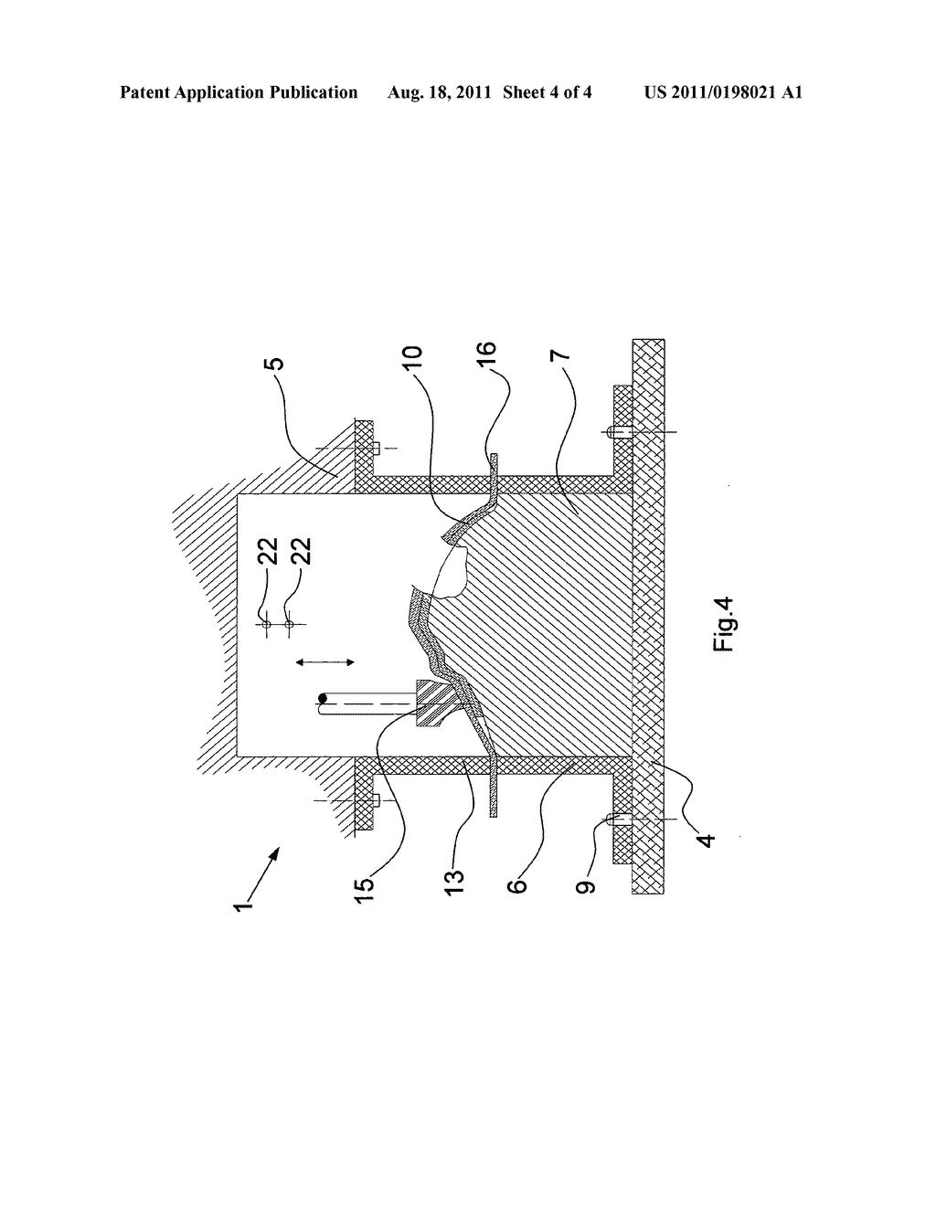 DEVICE AND METHOD FOR LAMINATING A SUBSTRATE LAYER WITH A DECORATIVE LAYER - diagram, schematic, and image 05