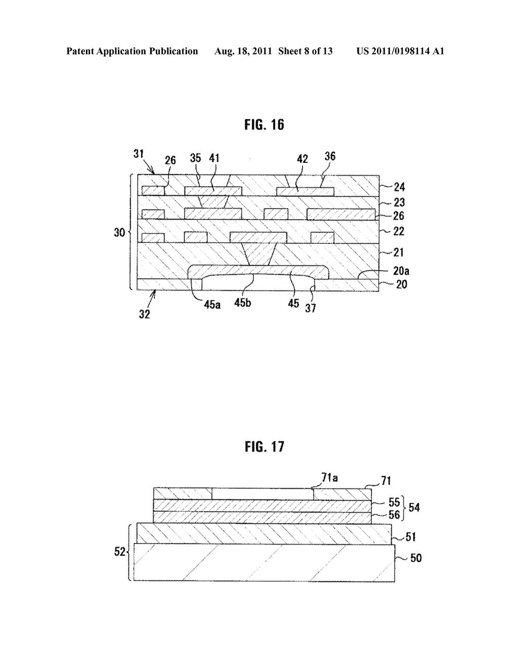 Multilayer Wiring Substrate, and Method of Manufacturing the Same - diagram, schematic, and image 09