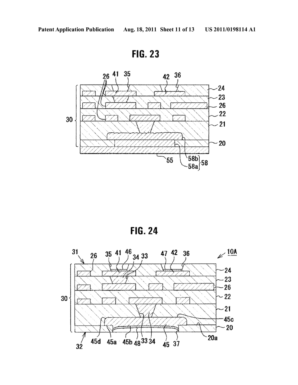Multilayer Wiring Substrate, and Method of Manufacturing the Same - diagram, schematic, and image 12