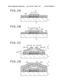 METHOD FOR MAKING SEMICONDUCTOR APPARATUS AND SEMICONDUCTOR APPARATUS     OBTAINED BY THE METHOD, METHOD FOR MAKING THIN FILM TRANSISTOR SUBSTRATE     AND THIN FILM TRANSISTOR SUBSTRATE OBTAINED BY THE METHOD, AND METHOD FOR     MAKING DISPLAY APPARATUS AND DISPLAY APPARATUS OBTAINED BY THE METHOD diagram and image
