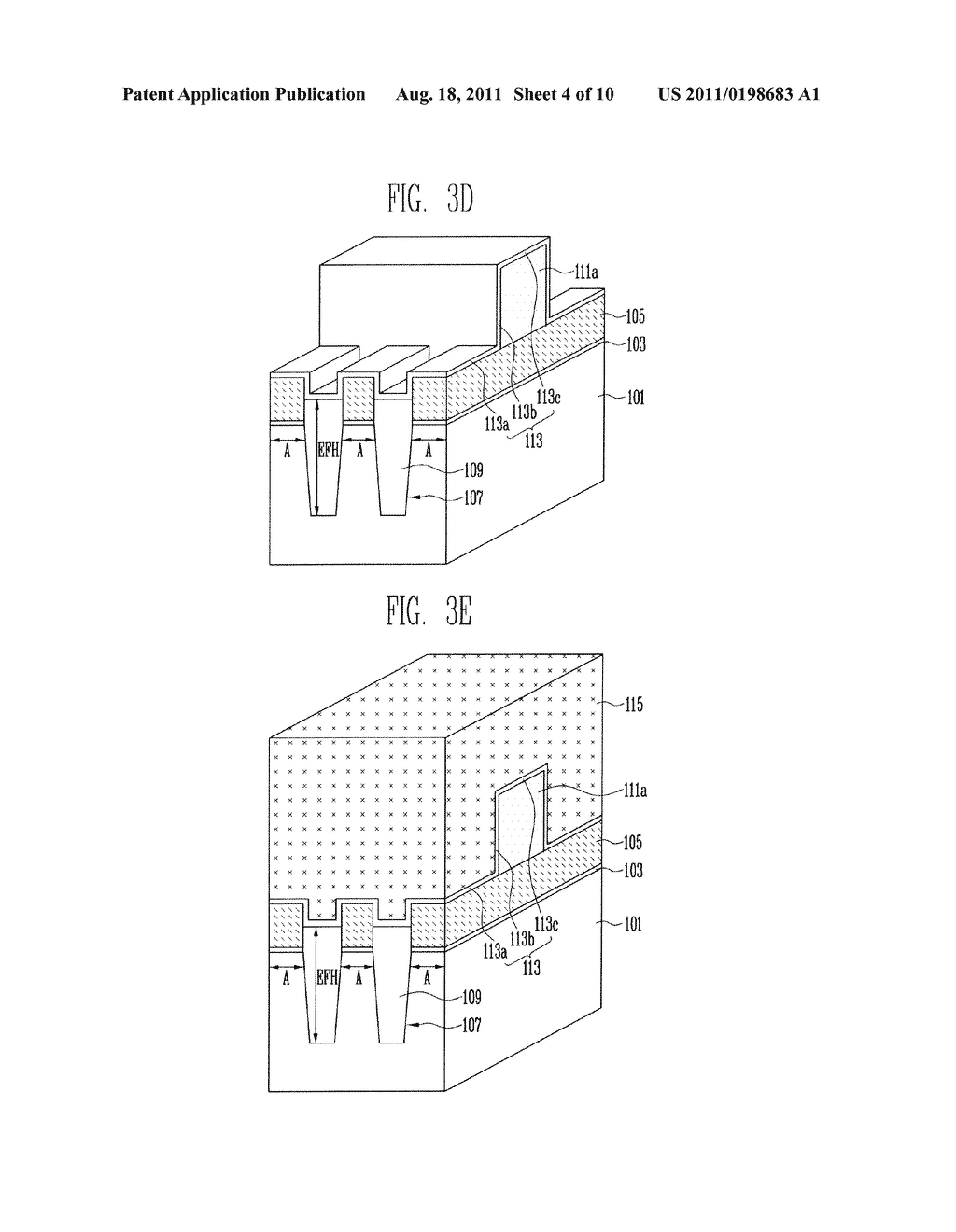 Patterns of Nonvolatile Memory Device and Method of Forming the Same - diagram, schematic, and image 05