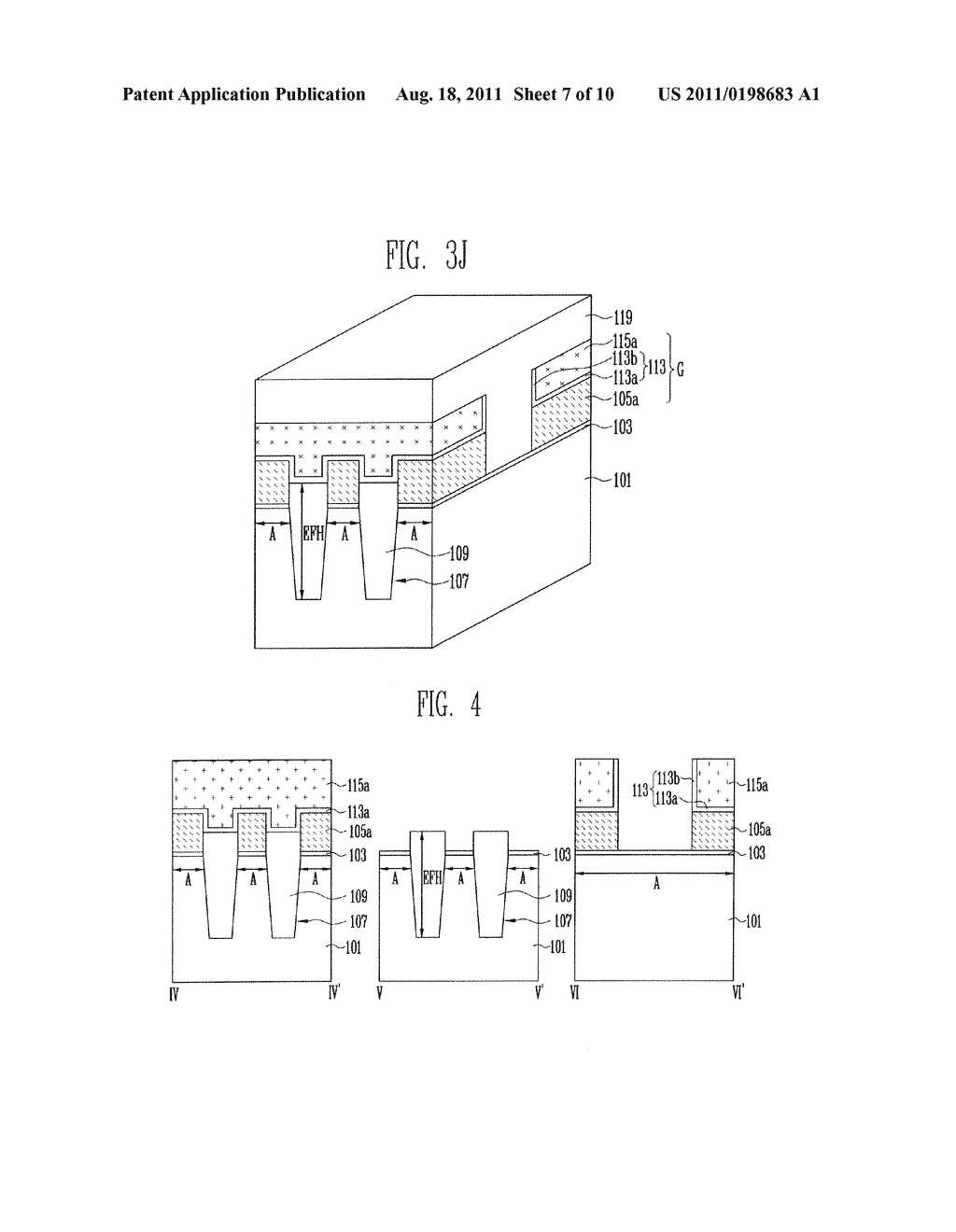 Patterns of Nonvolatile Memory Device and Method of Forming the Same - diagram, schematic, and image 08