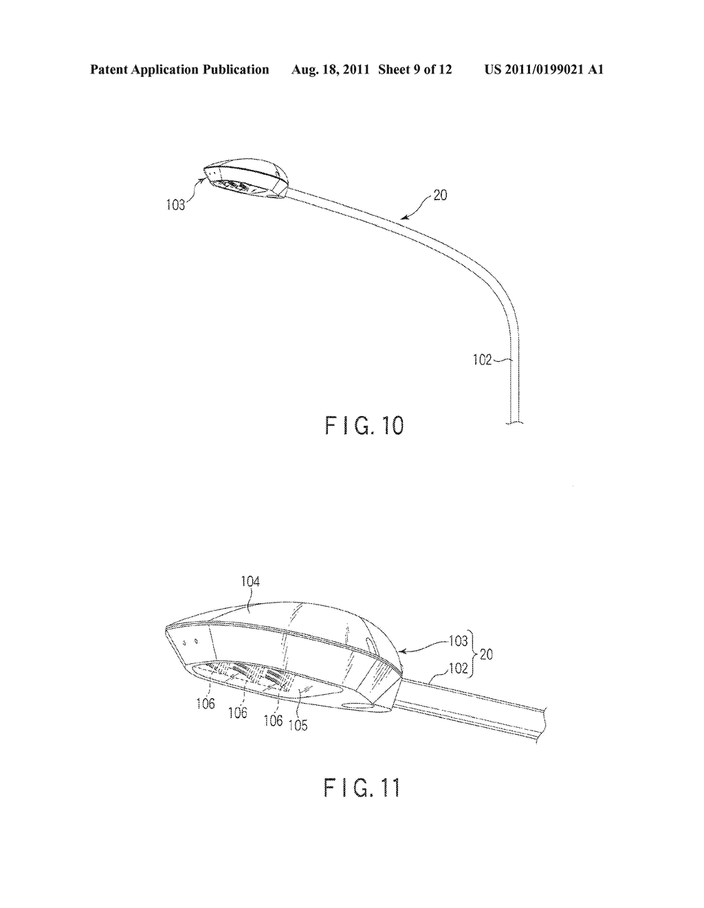 LIGHT-EMITTING DEVICE AND LIGHTING APPARATUS PROVIDED WITH THE SAME - diagram, schematic, and image 10