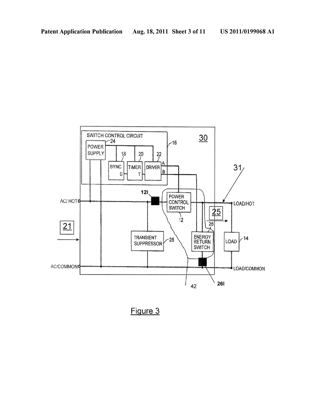 MICROPROCESSOR CONTROLLED VARIATION IN CUT-OUT PULSE APPLICATION IN     ALTERNATING CURRENT POWER - diagram, schematic, and image 04