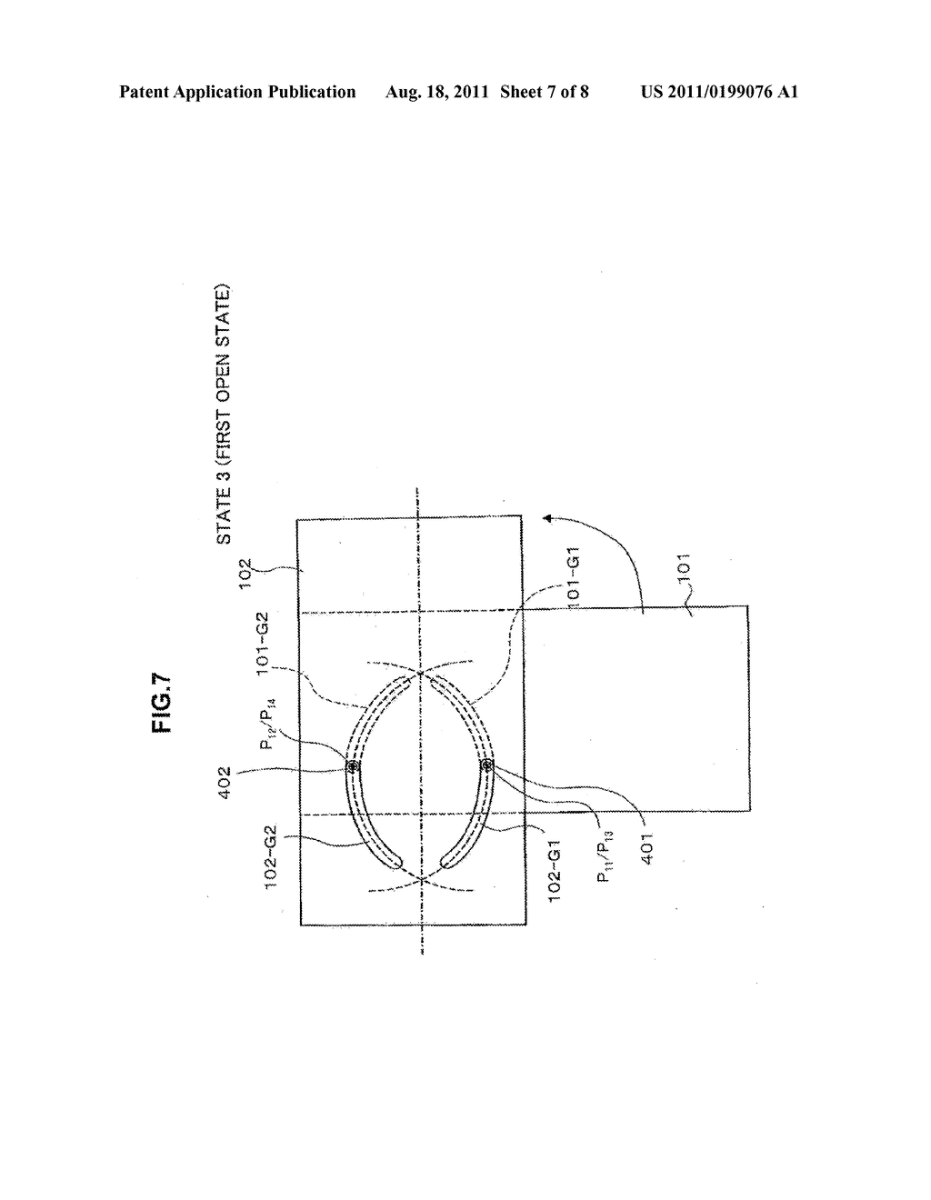 STATE DETECTION DEVICE AND METHOD IN PORTABLE DEVICE - diagram, schematic, and image 08