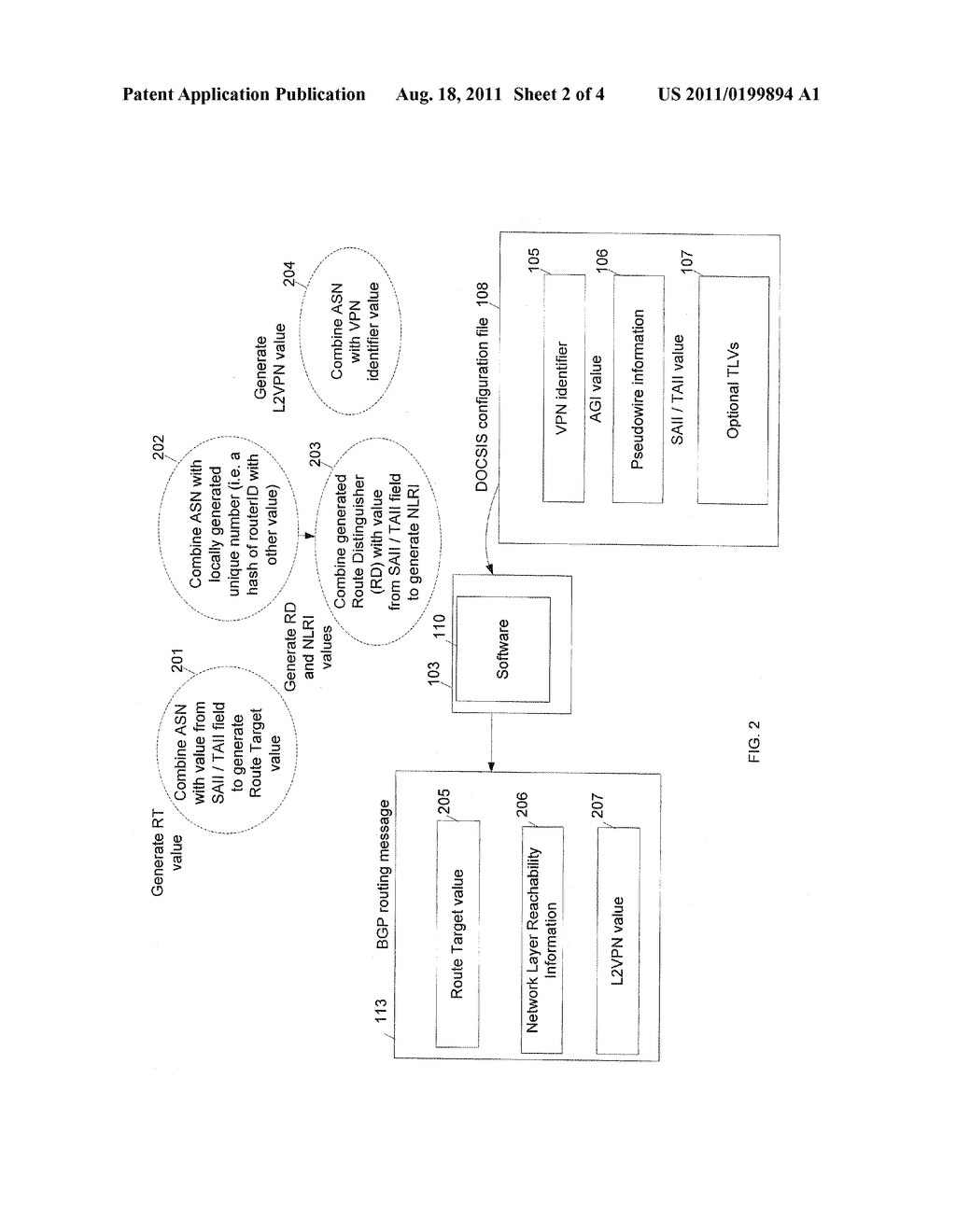 MANAGING L2VPN CONNECTIVITY AFTER A FIBER NODE SPLIT - diagram, schematic, and image 03