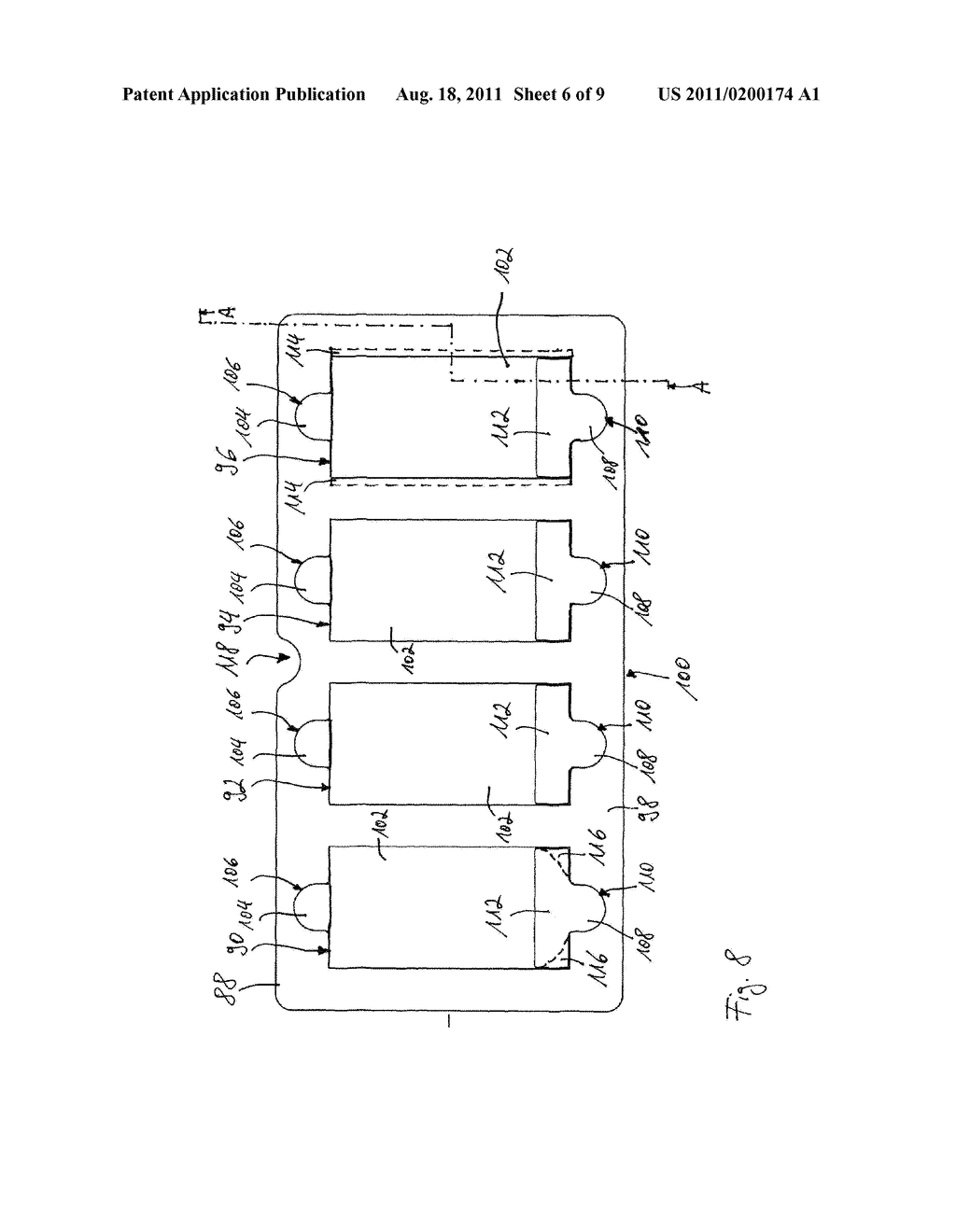 X-Ray Cassette for a Phosphor Storage Plate and Corresponding System and     Method for Reading Out a Phosphor Storage Plate - diagram, schematic, and image 07