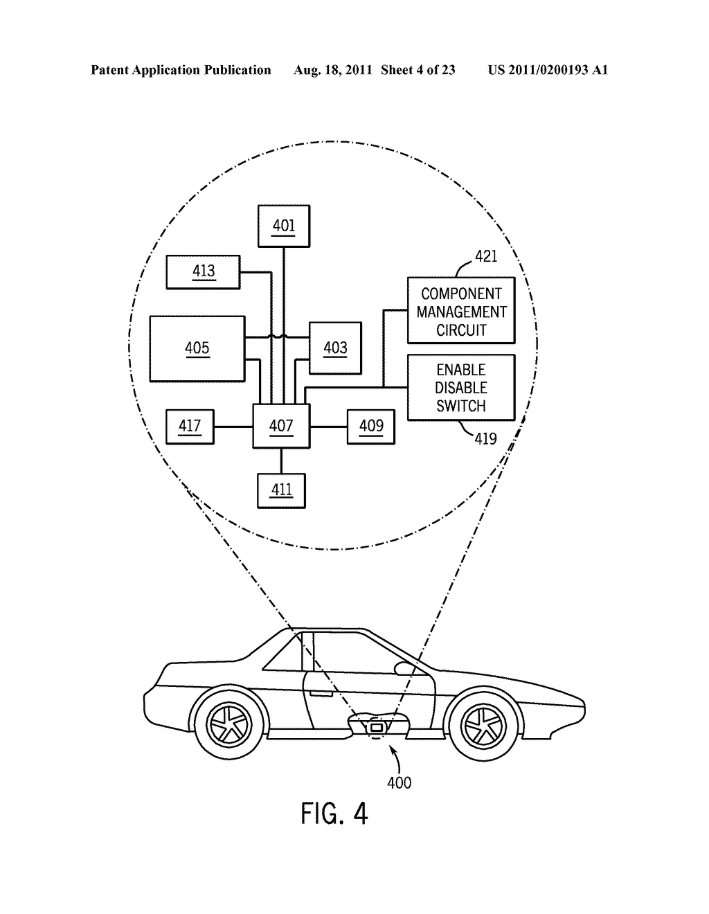 METHOD AND APPARATUS FOR CONTROLLING THE RECHARGING OF ELECTRIC VEHICLES     AND DETECTING STOLEN VEHICLES AND VEHICULAR COMPONENTS - diagram, schematic, and image 05