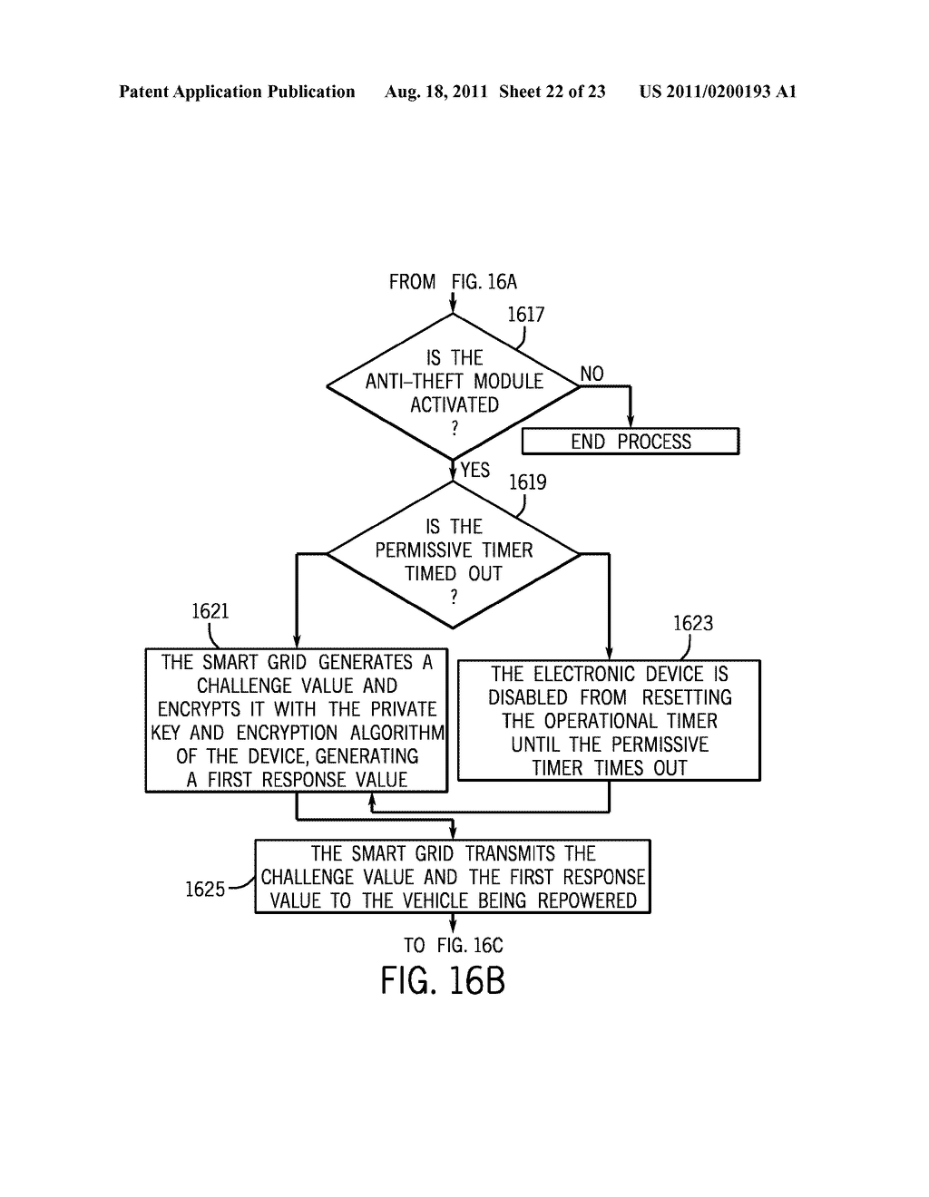 METHOD AND APPARATUS FOR CONTROLLING THE RECHARGING OF ELECTRIC VEHICLES     AND DETECTING STOLEN VEHICLES AND VEHICULAR COMPONENTS - diagram, schematic, and image 23
